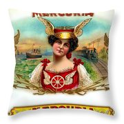 Mercuria Throw Pillow