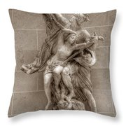 Mercury And Psyche Throw Pillow