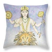 Budha Mercury Throw Pillow