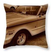 Mercury Comet Throw Pillow