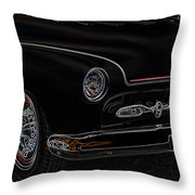 Mercury Glow Throw Pillow by Steve McKinzie