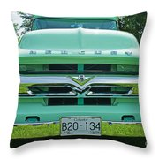 Mercury Grill Throw Pillow