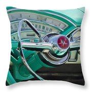 Mercury Montclair Throw Pillow
