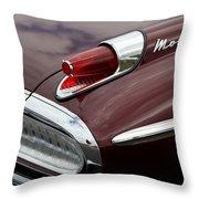 Mercury Monterey Taillight Throw Pillow