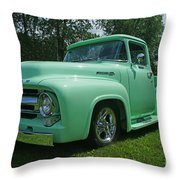 Mercury Pick Up Throw Pillow