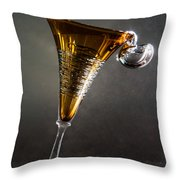 Mercury Rising Throw Pillow