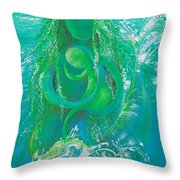 Merdonna Throw Pillow