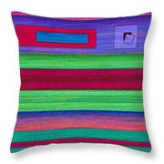 Merger Throw Pillow by David K Small
