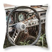 Merging With Nature Throw Pillow