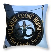 Mermaid Candy Throw Pillow