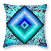 Mermaid Jewel Throw Pillow