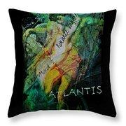Mermaid Love Spell Throw Pillow