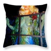 Mermaid Vision Throw Pillow