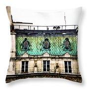 Mermaid Windows Throw Pillow
