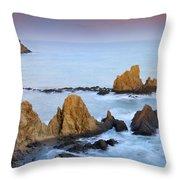 Mermail Reef Throw Pillow