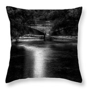 Merrill Walk Bridge Throw Pillow