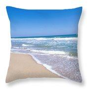 Merritt Island Nwr, Florida Throw Pillow