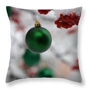 Merry Christmas 2 Throw Pillow