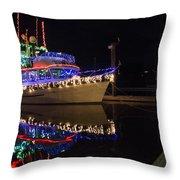 Merry Christmas Bandon By The Sea 2 Throw Pillow