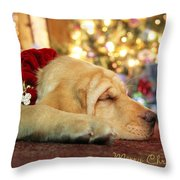 Merry Christmas From Lily Throw Pillow