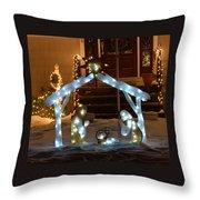 Merry Christmas - Peace On Earth Throw Pillow