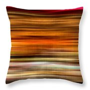 Merry Go Round Abstract Throw Pillow