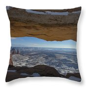 Mesa Arch Throw Pillow