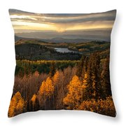 Mesa Sunset Throw Pillow