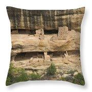 Mesa Verde National Park - 7906 Throw Pillow