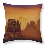 Mesas Throw Pillow