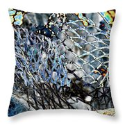 Meshed Throw Pillow