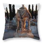 Mesilla Nm Cemetery 26 Throw Pillow