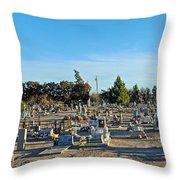 Mesilla Nm Cemetery 3   Throw Pillow
