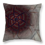 Mesmer By Jammer Throw Pillow