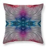 Mesmerising Rainbow Throw Pillow