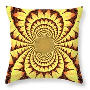 Mesmerizing Eiffel Tower Abstract Throw Pillow