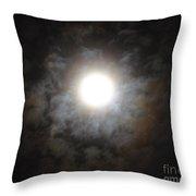 Mesmerizing Moonlight Throw Pillow