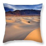 Mesquite Gold Throw Pillow by Darren  White