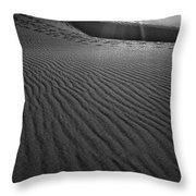 Mesquite Sand Dunes  Throw Pillow