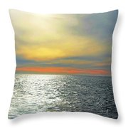 Message From The Other Side Throw Pillow