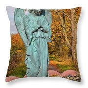 Messenger Between Two Worlds Throw Pillow