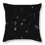 Messier 44, The Beehive Cluster Throw Pillow