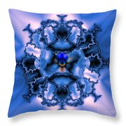 Messing With Mandelbrot  Throw Pillow
