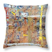 Messy Background Throw Pillow by Carlos Caetano