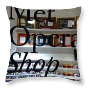 Met Opera Shop Throw Pillow