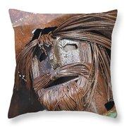 Metal Amigo Throw Pillow