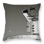 Metal And Moon Throw Pillow