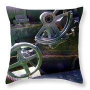 Antique Canon Mechanisms Throw Pillow