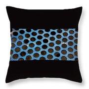 Metal Texture Round Throw Pillow