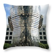 Metalmorphosis Back Of Head Throw Pillow by Randall Weidner